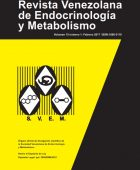Revista Venezolana de Endocrinología y Metabolismo Volumen 15 Número 1 Febrero 2017